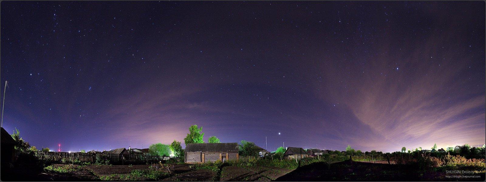 белоомут, московская область, ночь, пейзаж, Shaman