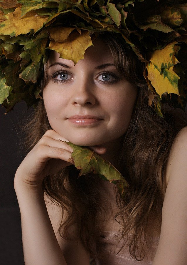 портрет,осень, ena-olga