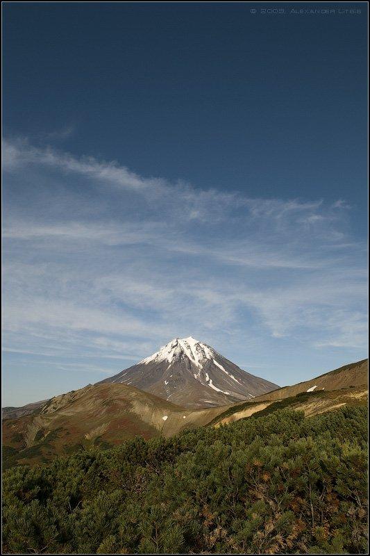 горы,вулкан,вилючинский,камчатка, Александр Лицис