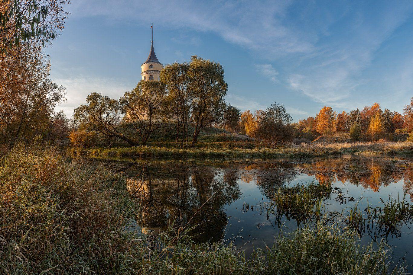 павловск, бип, мариенталь, славянка, тызва, осень, рассвет, россия, Илья Штром
