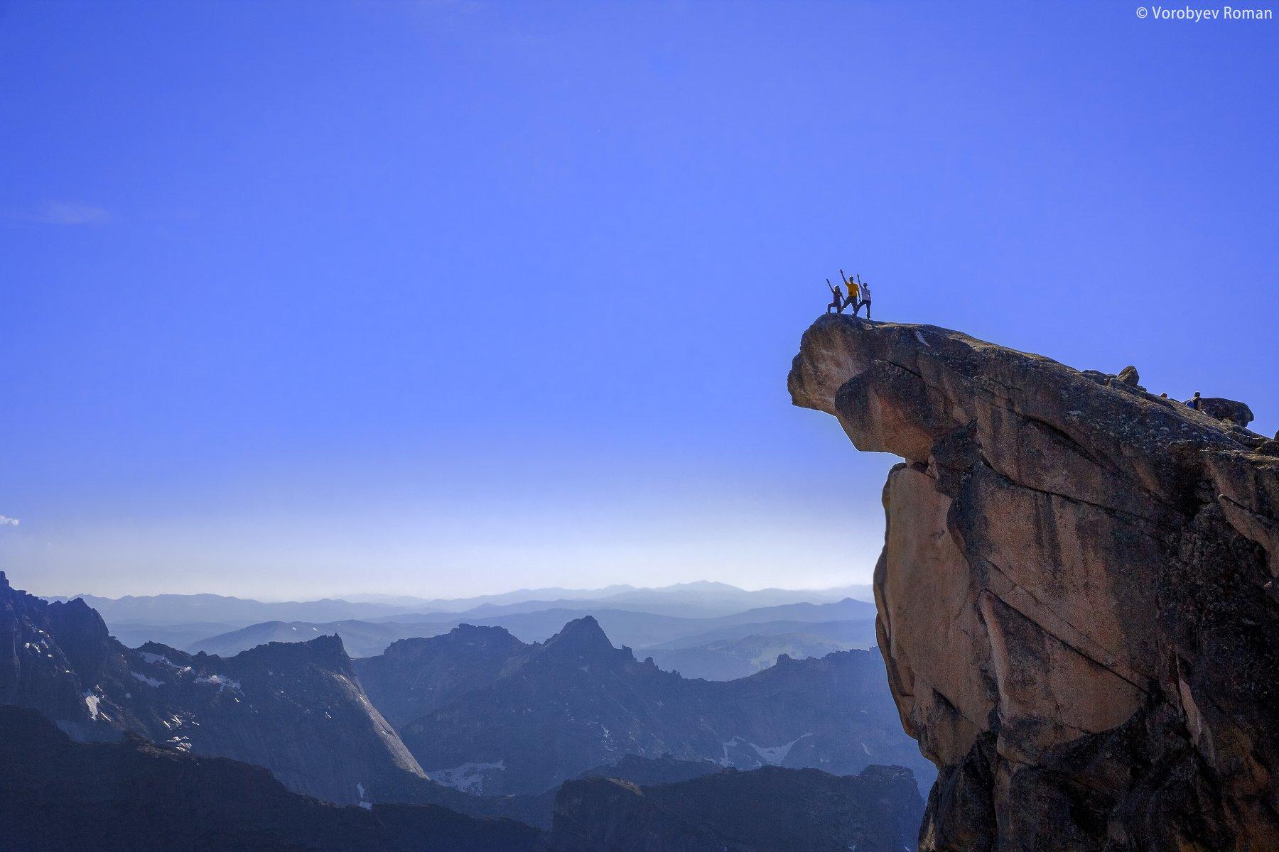 Вершина, Горы, Ергаки, Небо, Пейзаж, Природа, Скалы, Roman Vorobyev