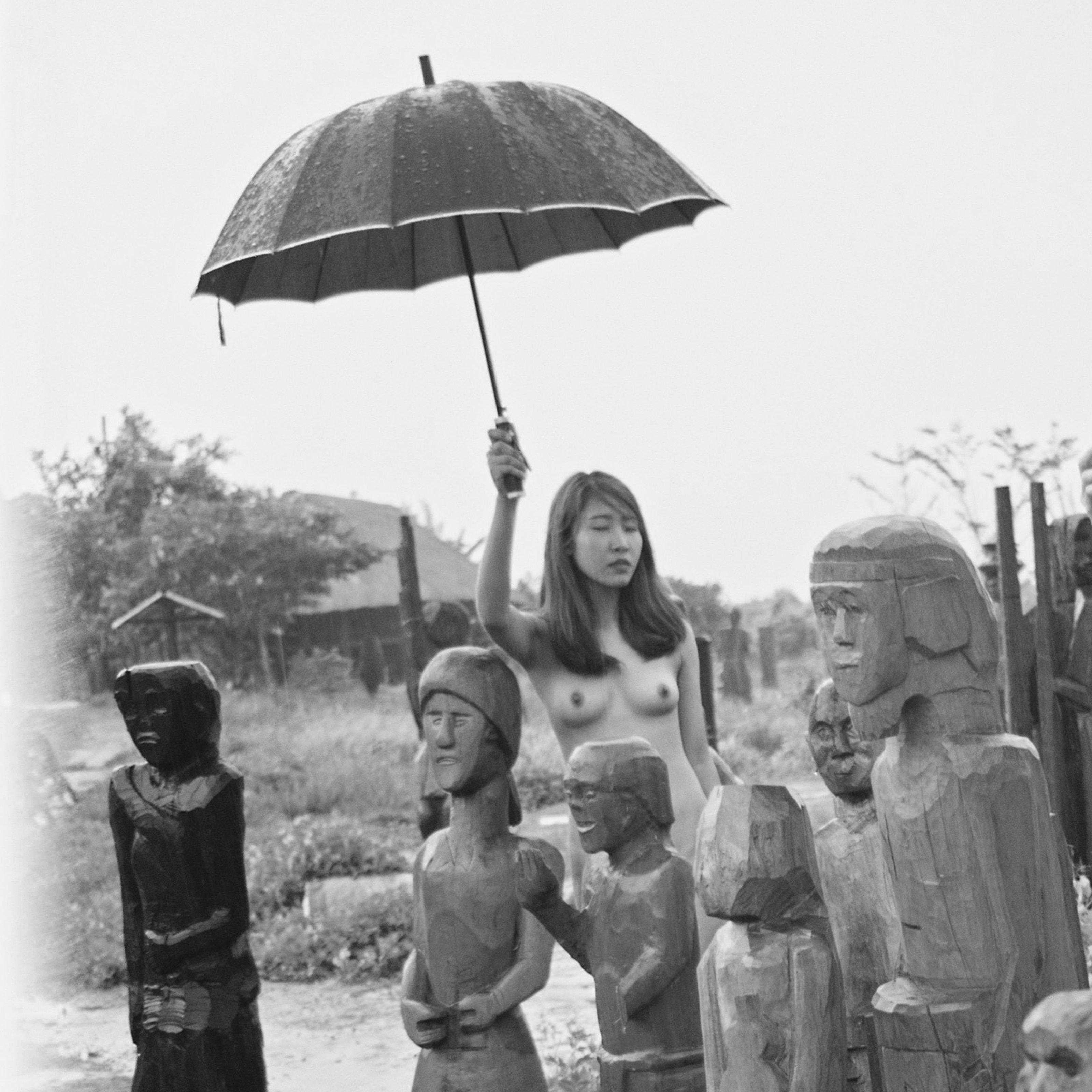 120 film, 6x6, Black and white, Hanoi, Negative, Nude, Vietnam, Woman, Nonh Dan