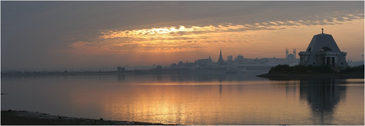 казань, рассвет, солнце, казанка, река, кремль, утро, кулешов, Кулешов Евгений