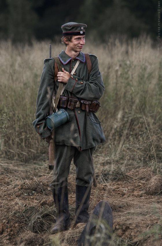 пруссия, солдатик, первая, мировая, война, 1916, форма, реконструкция, Виктор Перякин