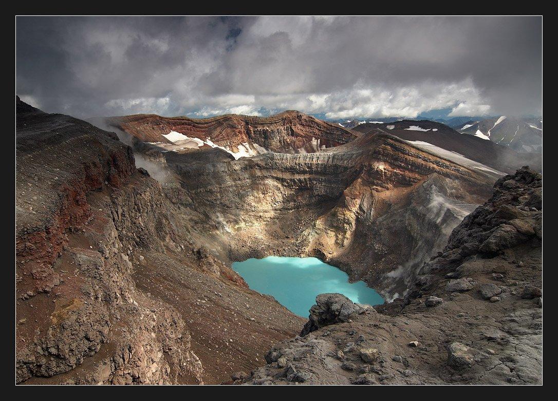 камчатка, вулкан горелый, Alexander Fetisov