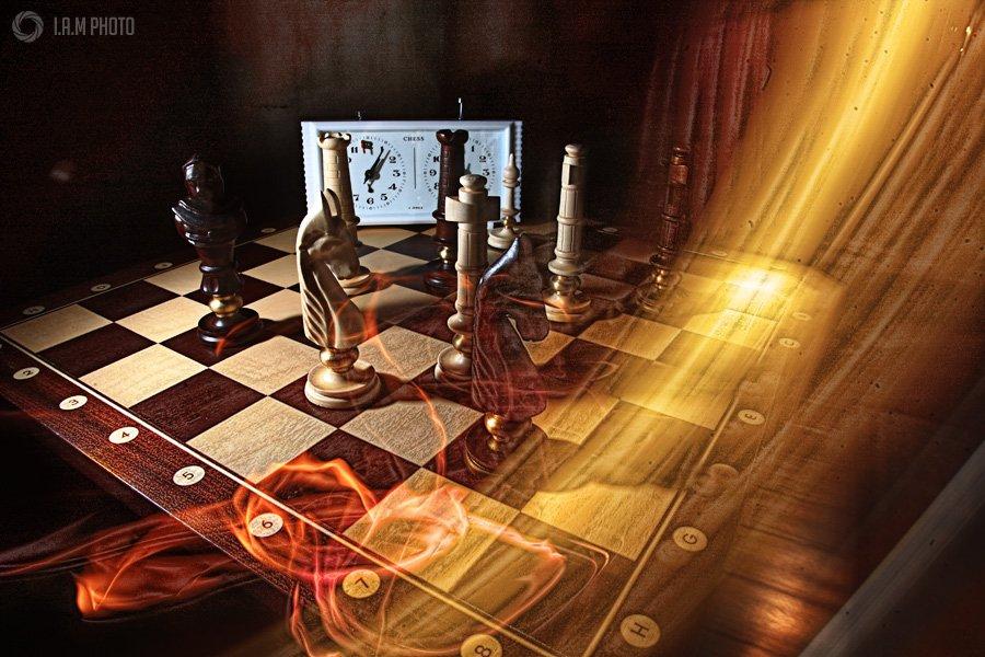шахматы, свет, Артём Саватеев