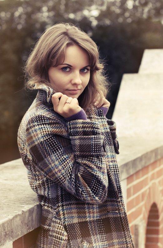 девушка, портрет, колечко,осень, Ольга Енаева