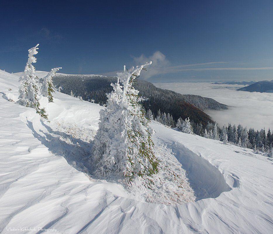 карпаты, горы, снег, Kolebidenko Vladimir