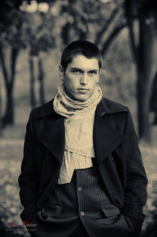 мужчина,портрет,осень,мода, Александр Путев