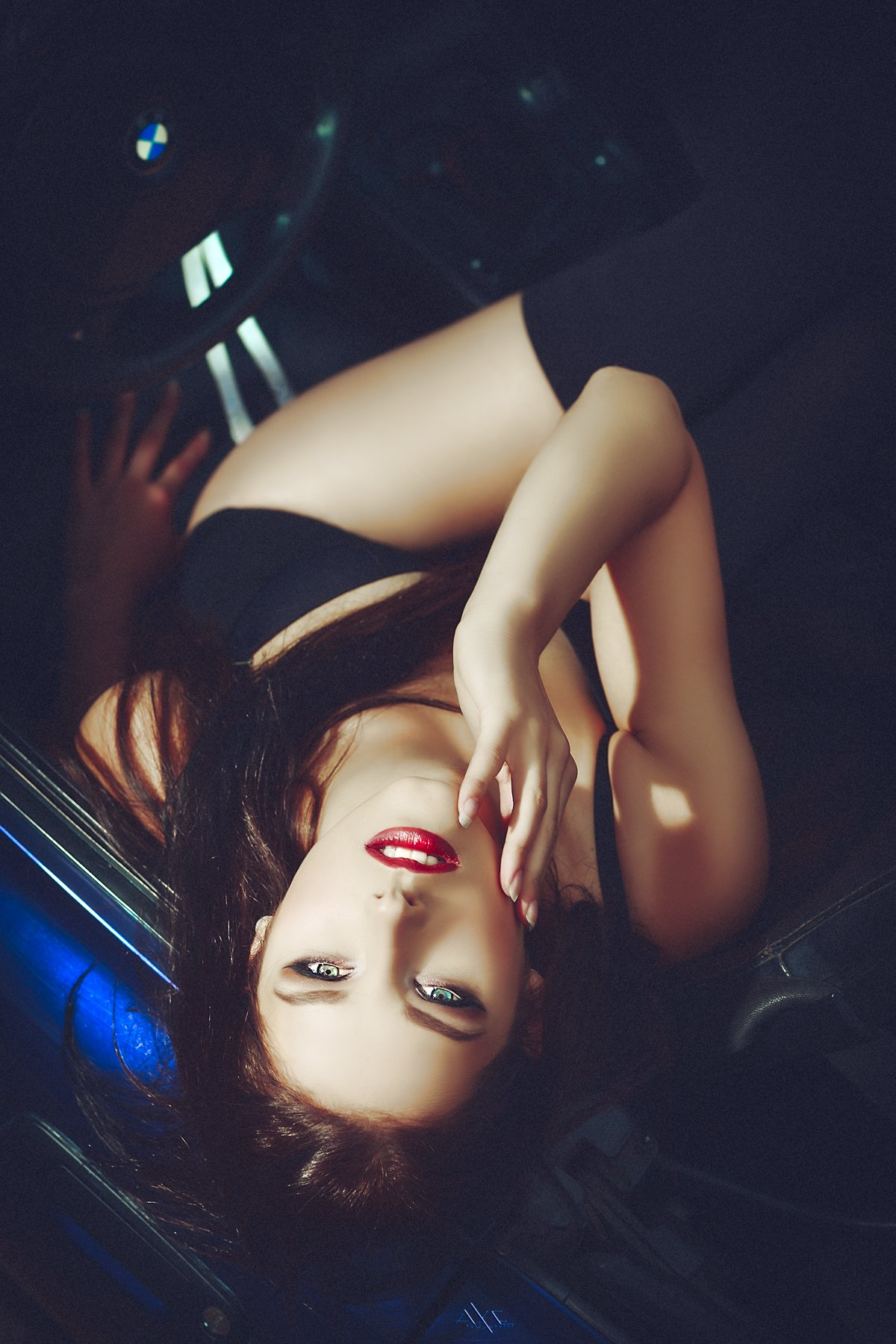 Car, Portrait, Toning, Woman, Руслан Болгов (Axe)