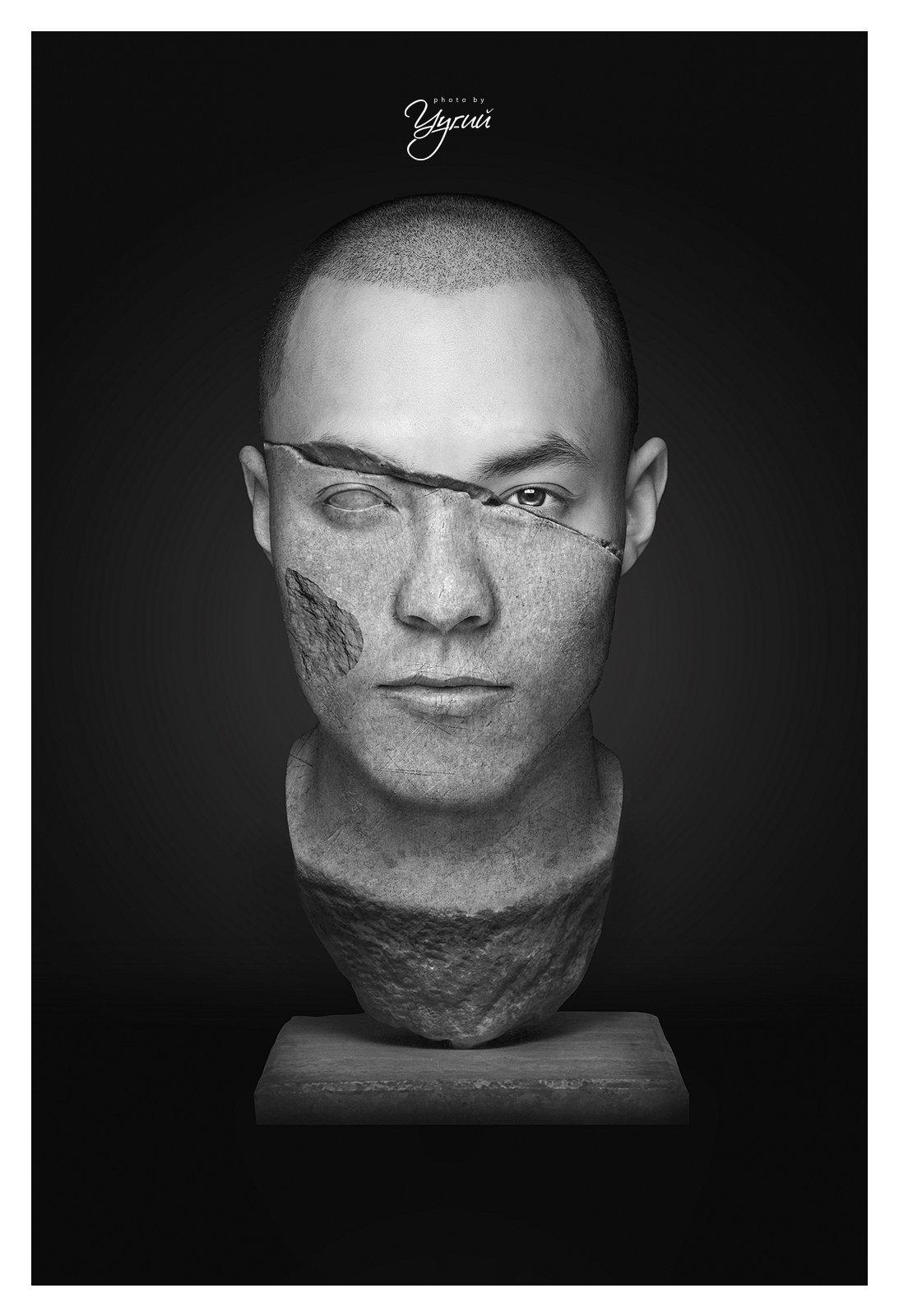 #Portrait #MongolianModel , Uugan-Erdene