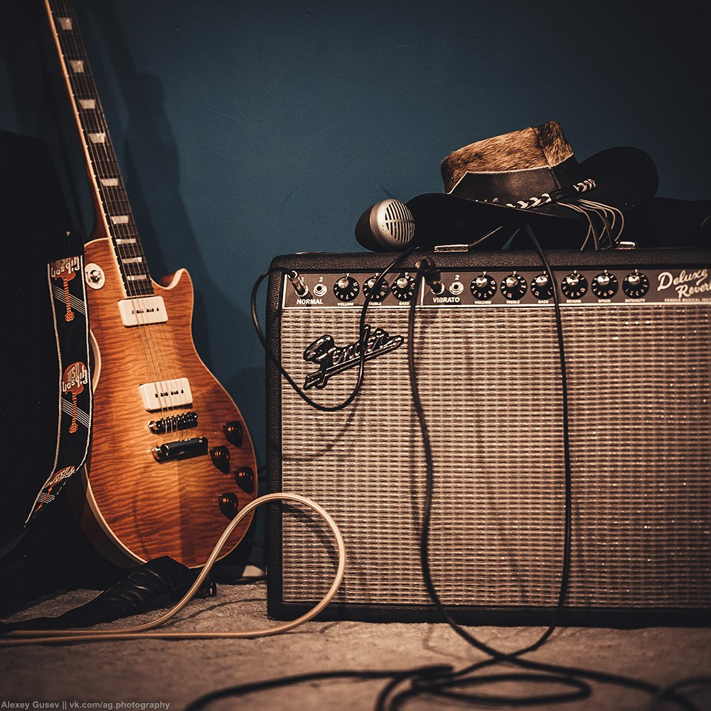 blues,rock,guitar,stage,music,hat,gibson,fender, Алексей Гусев