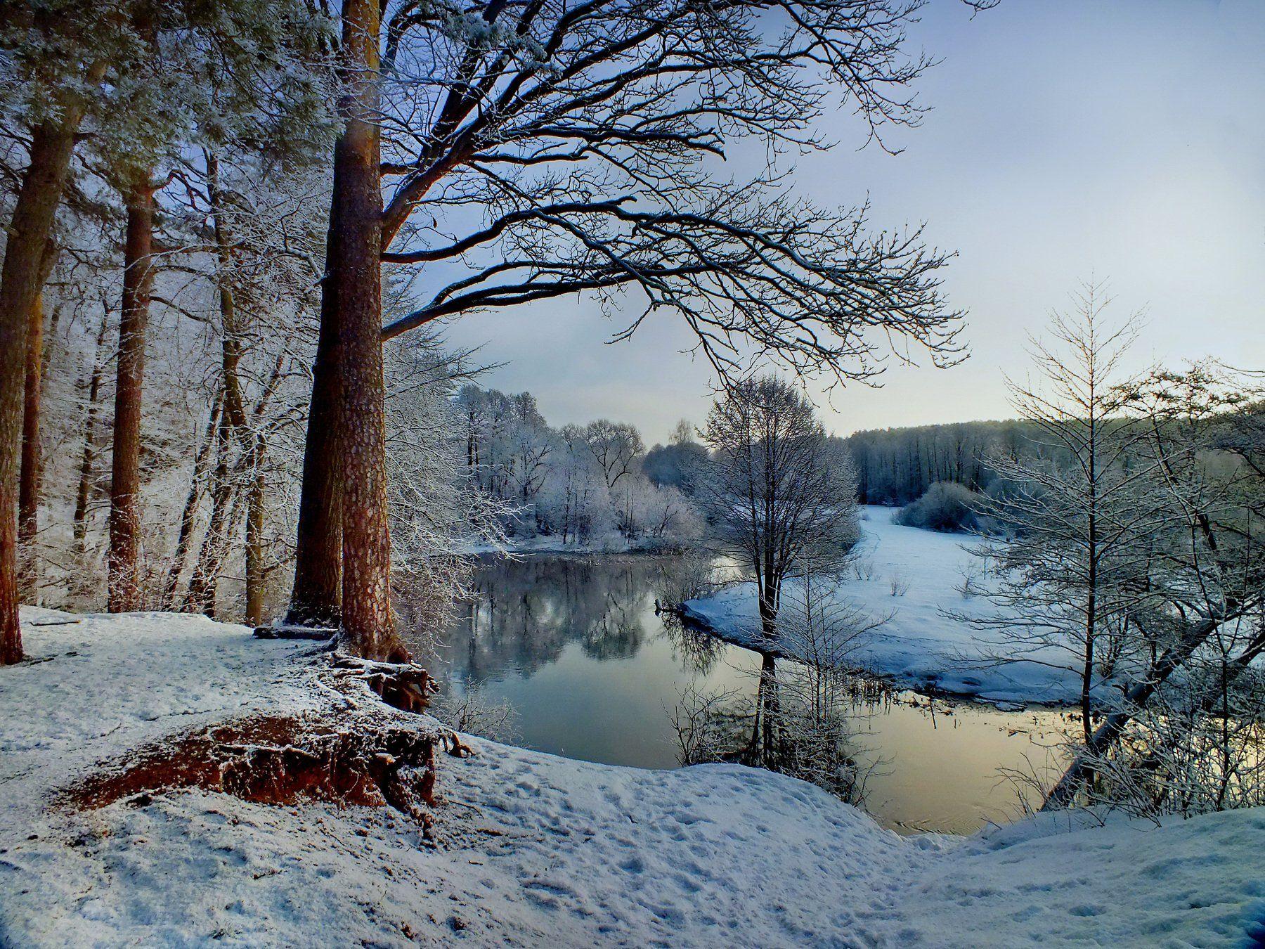 Свтслочь, зима, Валерий Козуб