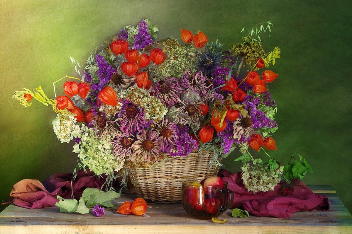 Букет сухоцветов Вера Павлухина