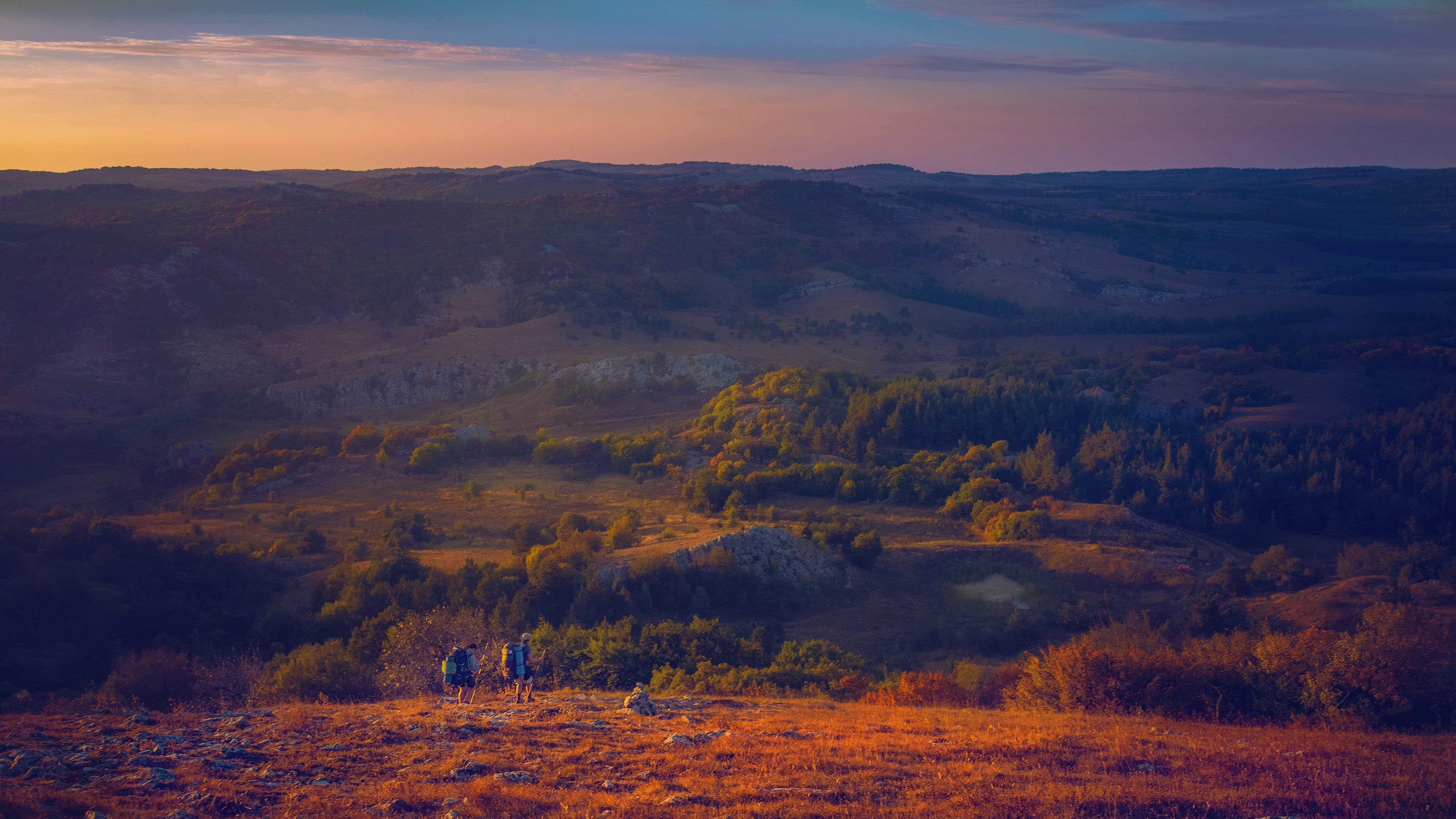 крым, солнце, свет, ай-петри, плато, долина, путешествие, путешественник, пейзаж, ландшафт, горы, яйла, Алексей Бордуков