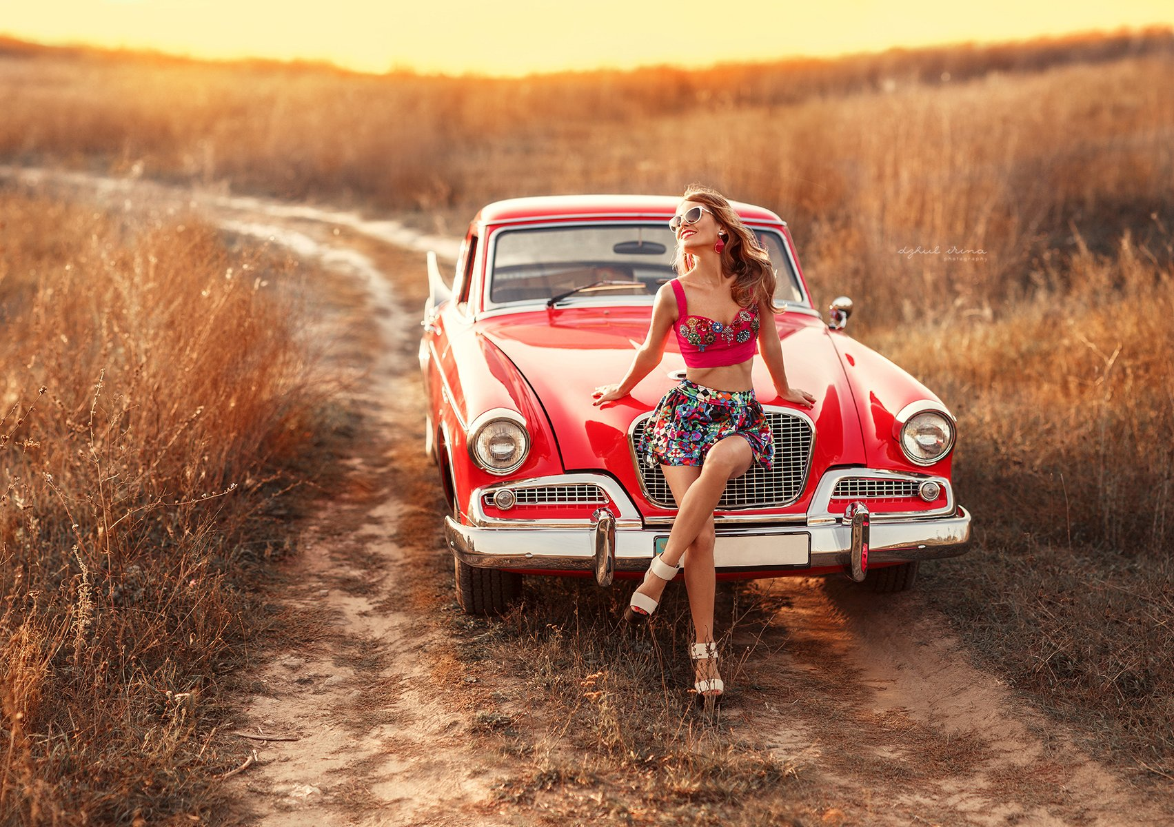 Canon, Canon 5D Mark III, Car, Dzhul irina, Girl, Irinadzhul, People, Photo, Photography, Photoshop, Popular, Portrait, Sunset, Автомобиль, Девушка, Закат, Люди, Портерт, Ирина Джуль