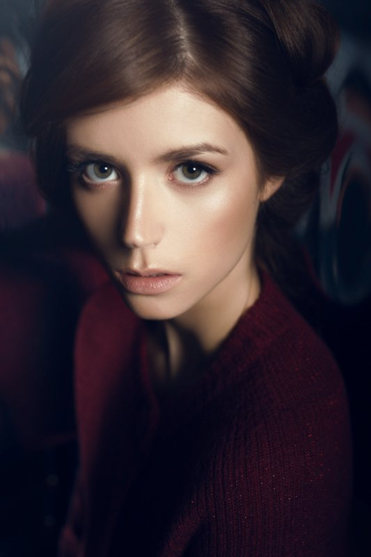 Girl, Glamour, Mirror, Portrait, Корнеев Виктор