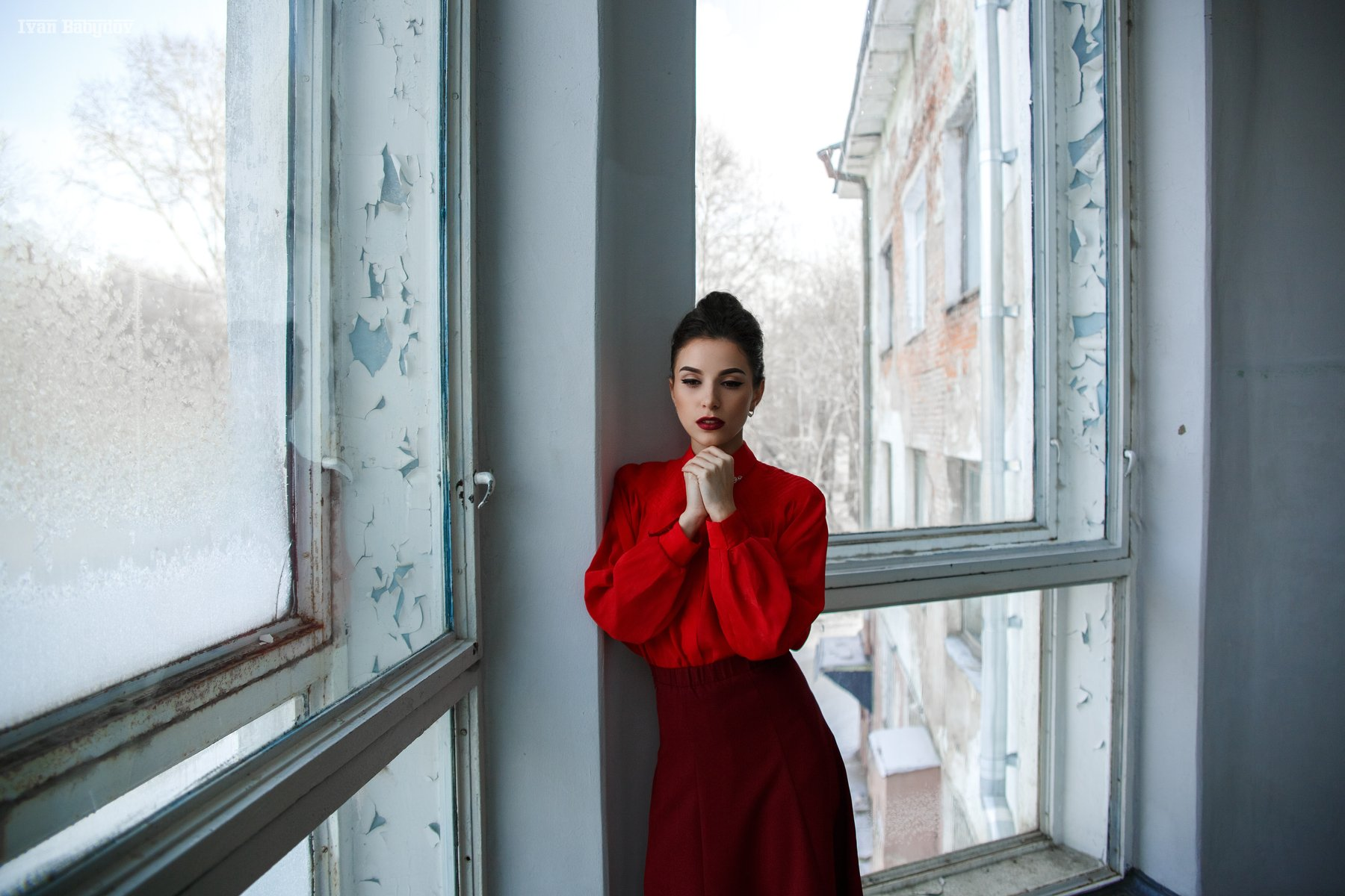 #ivanBabydov #girl #red #face #lady, Бабыдов Иван