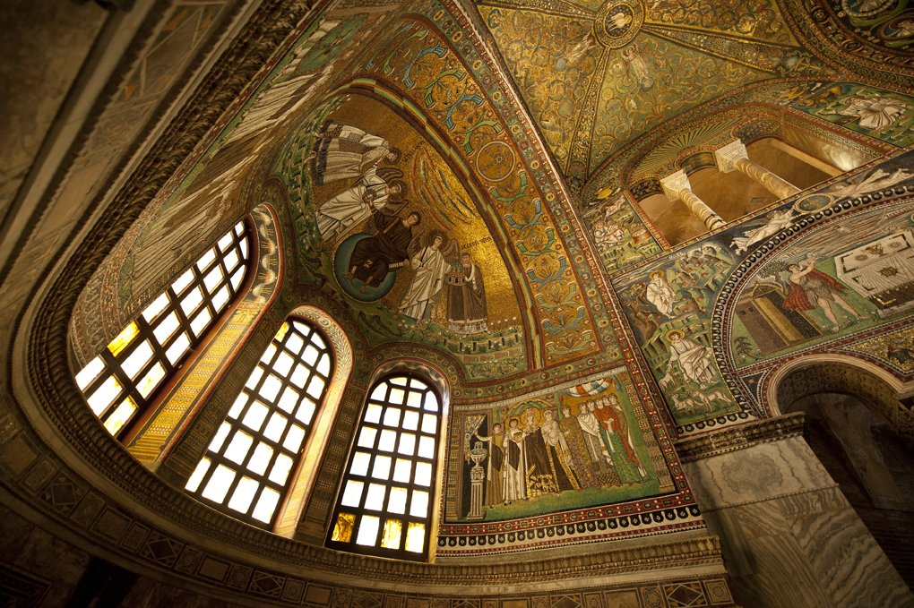 Architecture, Art, Europe, Italy, Middle, Mosaic, Ravenna, Temple, Venezia, Wide, Tomek Jungowski