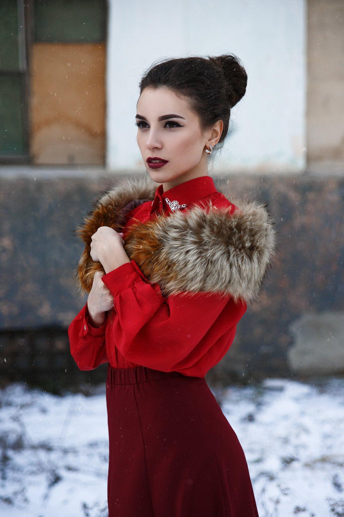 #Иван Бабыдов #Девушка #Леди #Снег, Бабыдов Иван