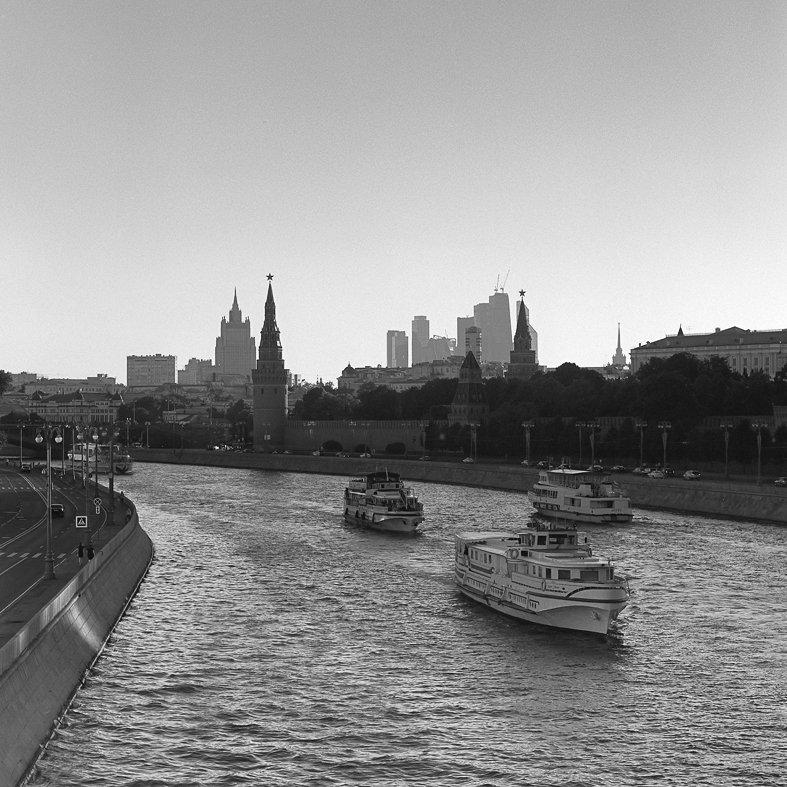 Река., Утро., Александр Резников
