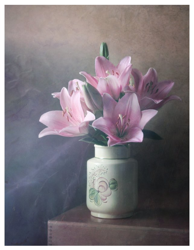 аромат, лилии, натюрморт, цветы, Курочкина Диана