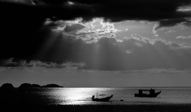 Koh Phangan, Sea, Seascape, Thailand, Jacek