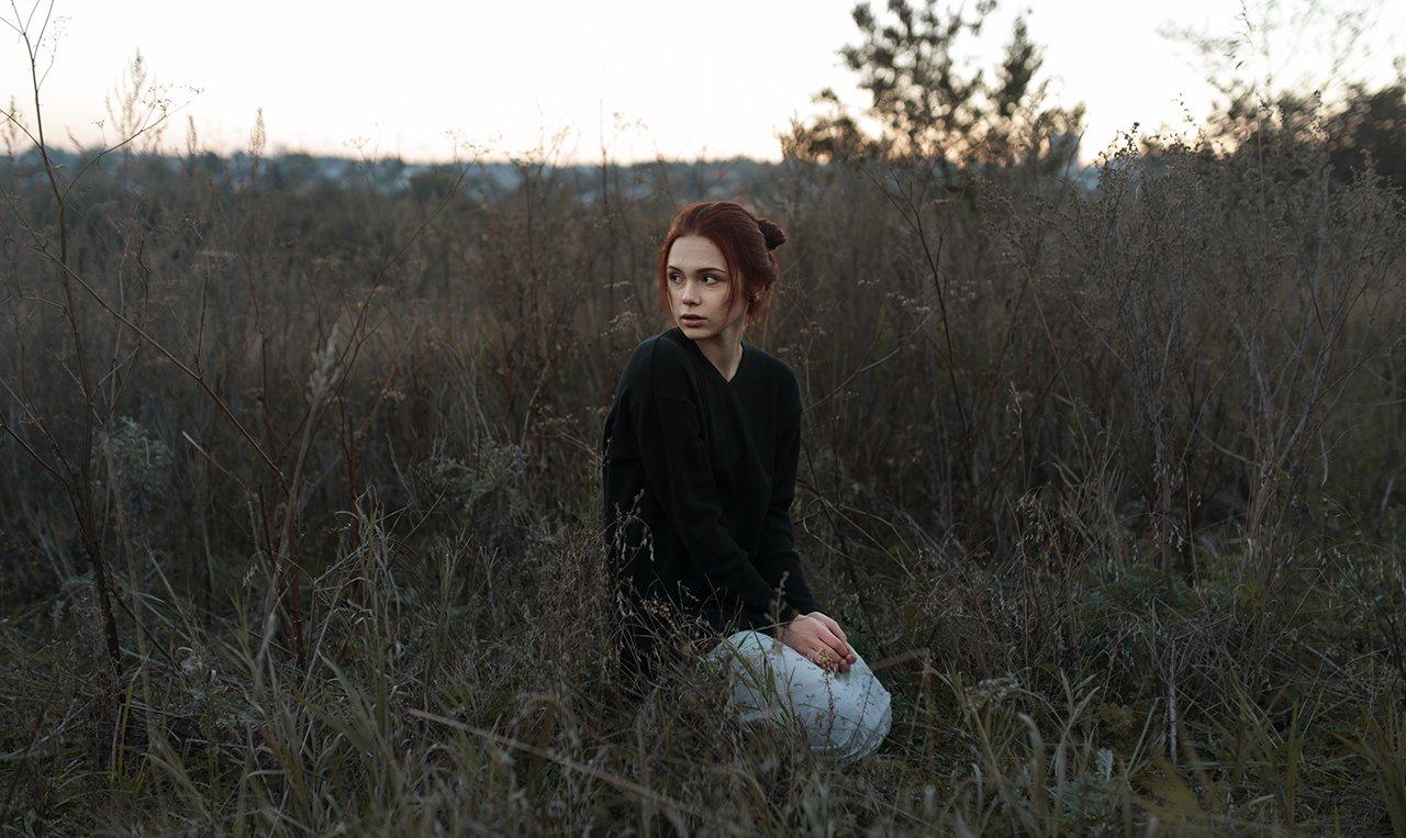 35 мм, Portrait, Портрет, Портрет девушки, Портфолио, Келина Ирина
