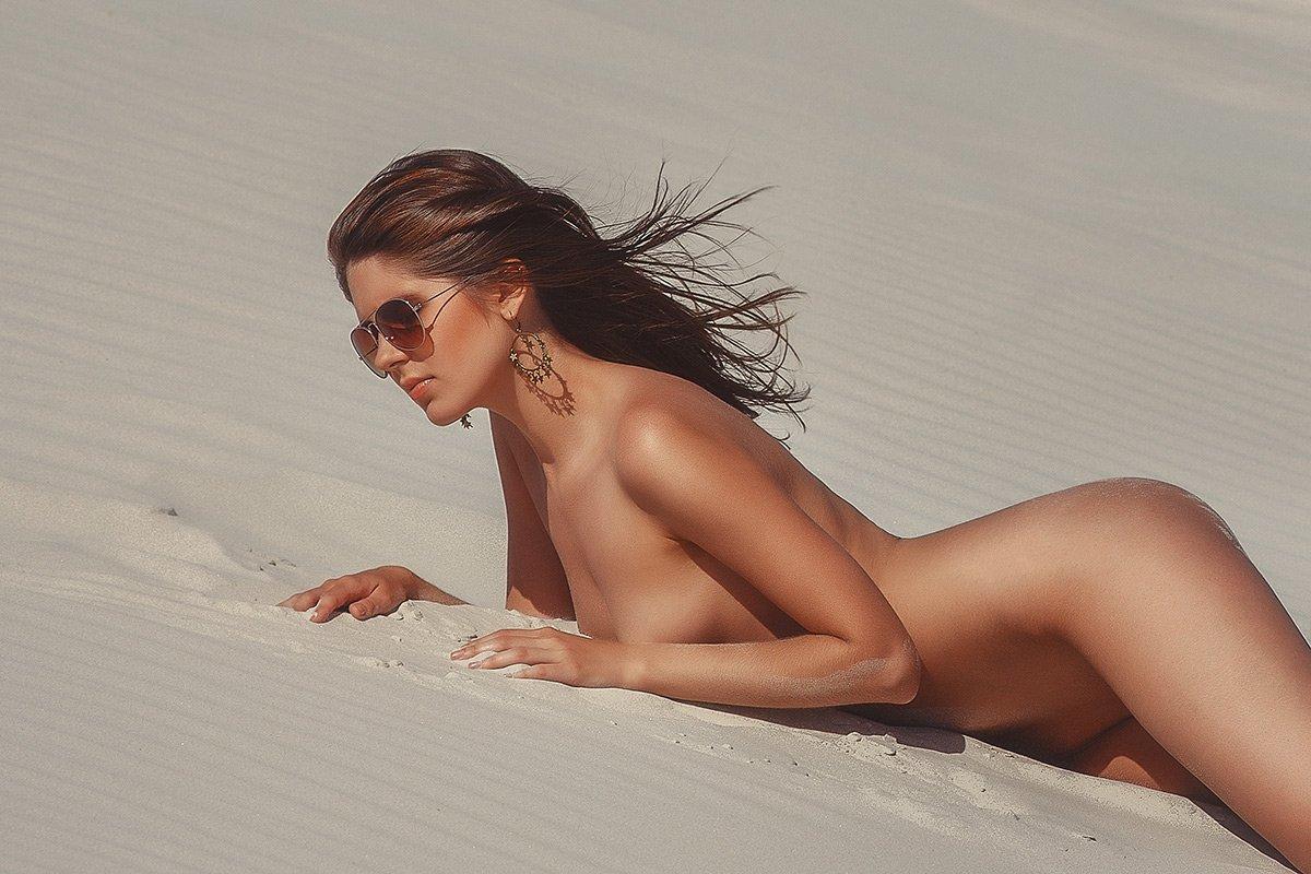 Девушка песок, Солнце, Шумкова Элина