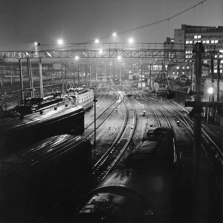 yashica, m-format, film, paths, train, поезда, пути, железная дорога, средний формат, Дмитрий Морозов