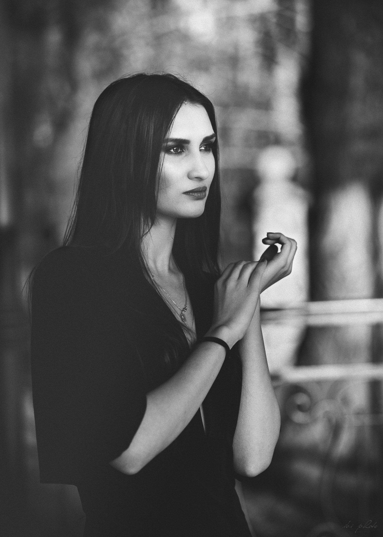 Portrait, Woman, Iza