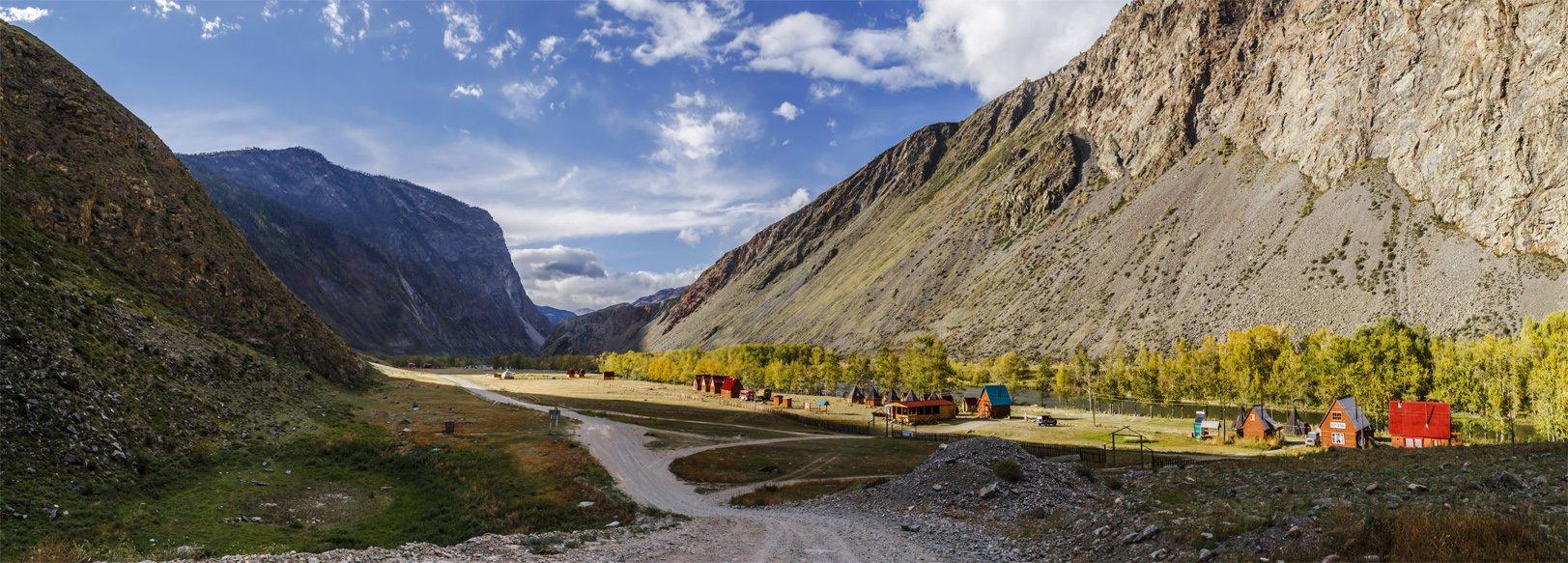 Алтай, Горный алтай, Горы, Дикая природа, Осень, Панорама, Пейзаж, Природа, Альберт Беляев