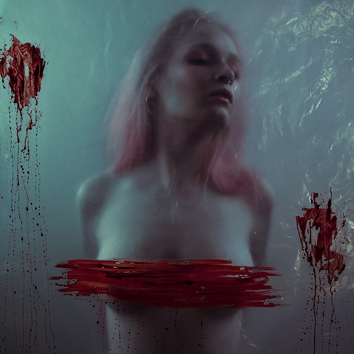 body, color, girl, pink, red, Kamilla Hanapova
