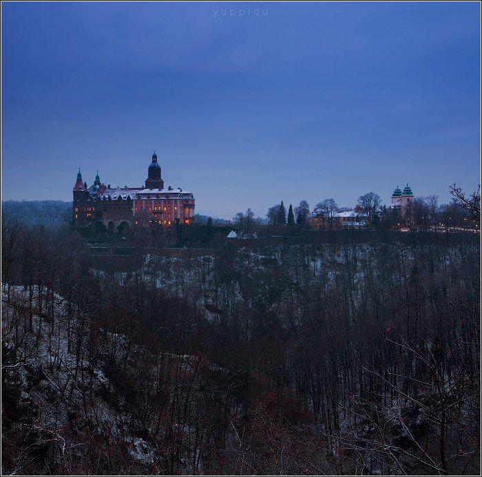 Castle, Ksiaz, Poland, Yuppi Du