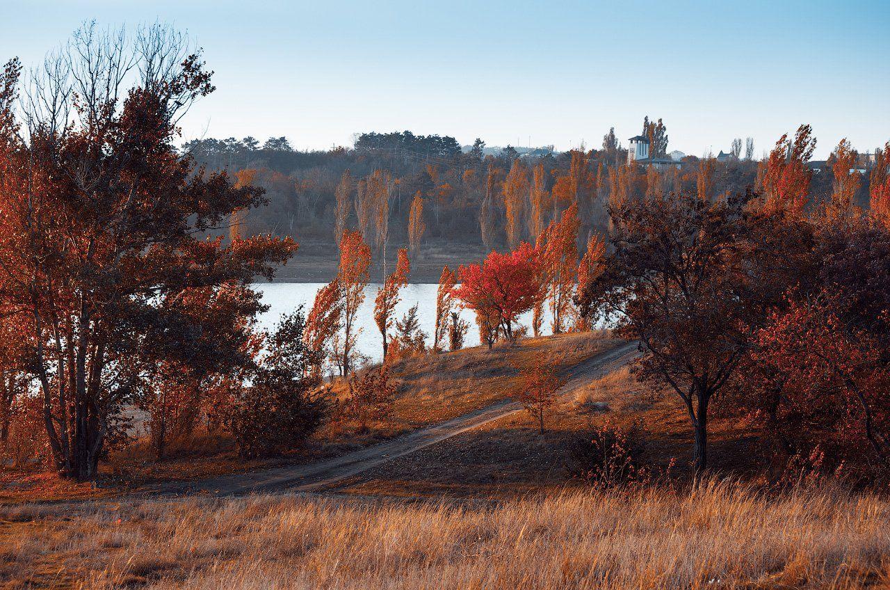 Крым, Осень, Asedach Alexander