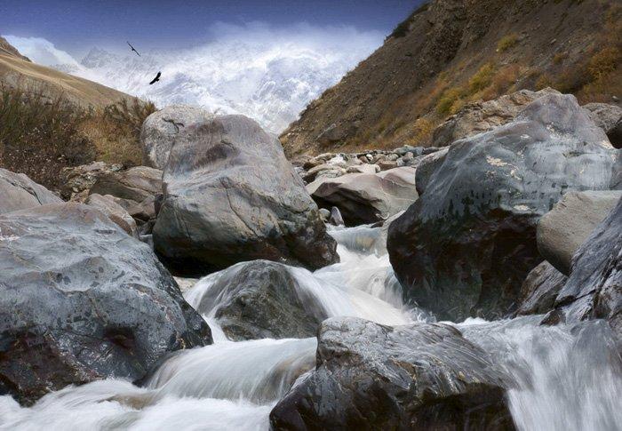 вода, камень, тянь-шань, киргизия, tinagrach