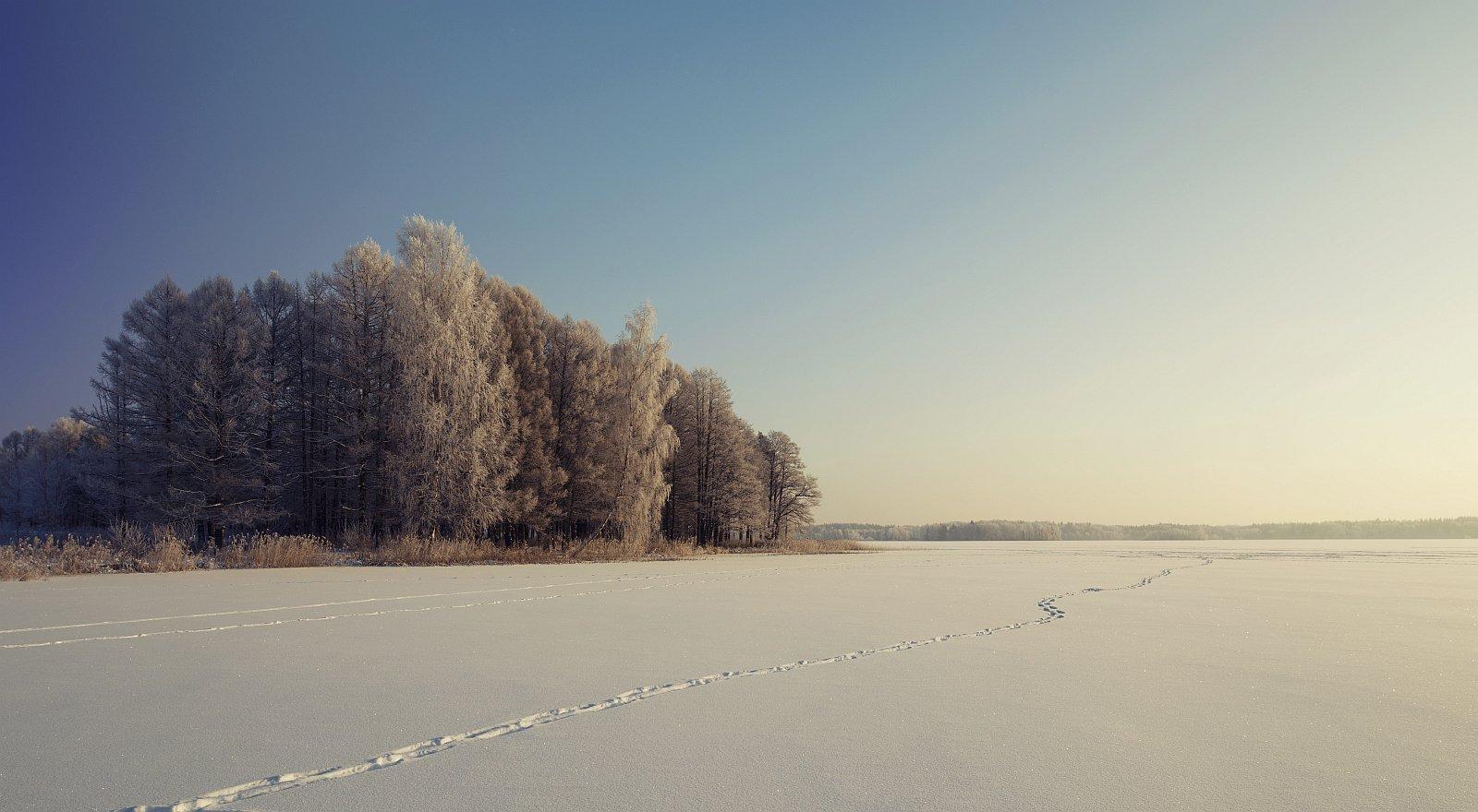 Пейзаж, природа, зима, Ефимов Александр