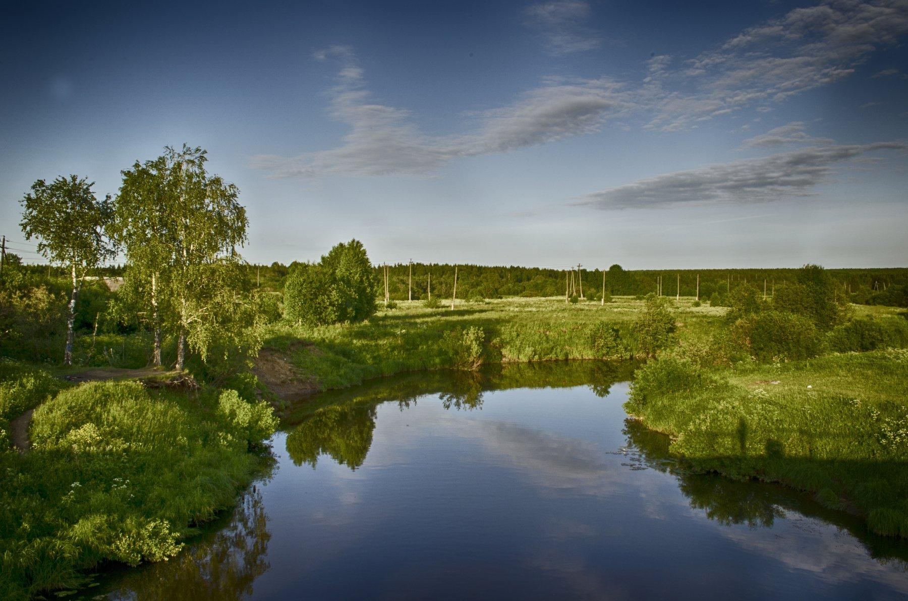 река,природа,провинция, Карепанов Евгений