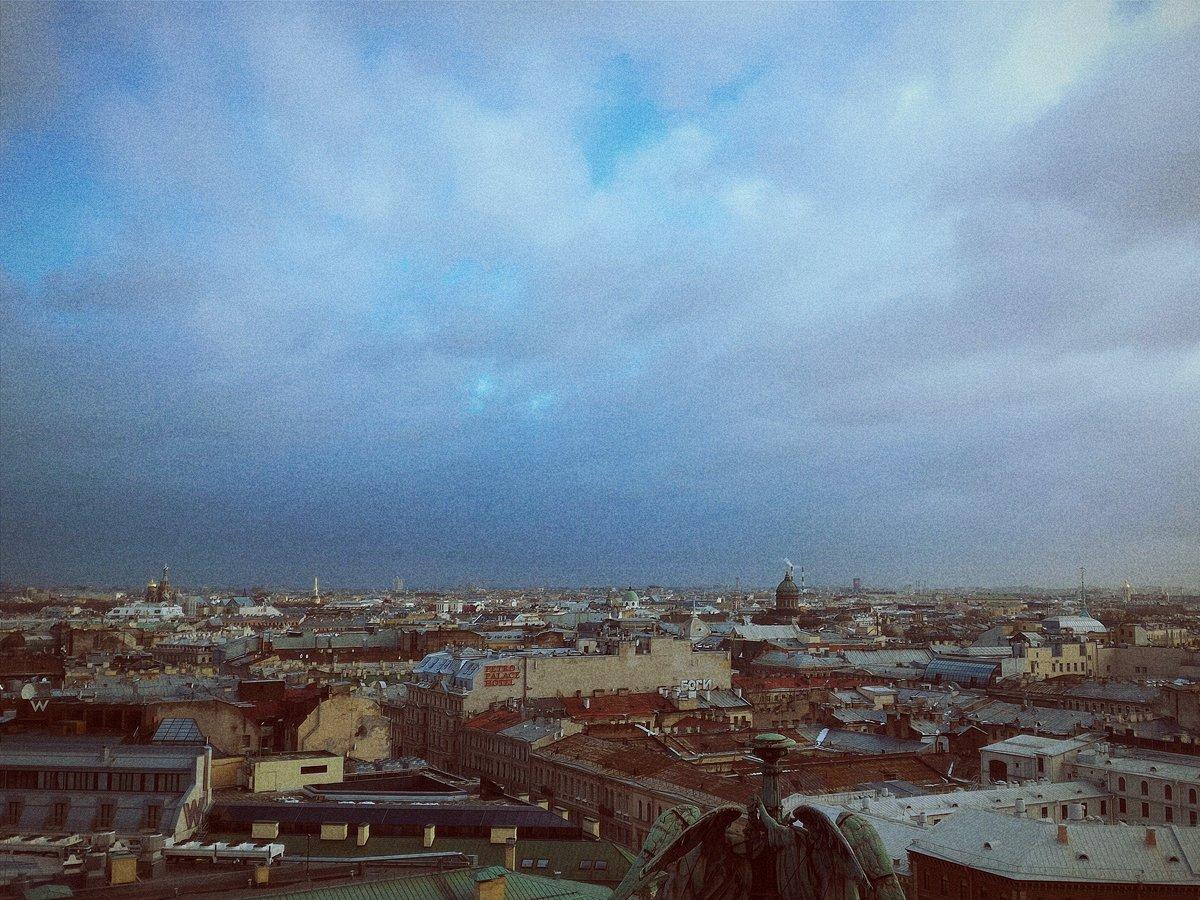 СПб, небо, пейзаж, Питер, зима, настроение, полёт, Александр Тугарин