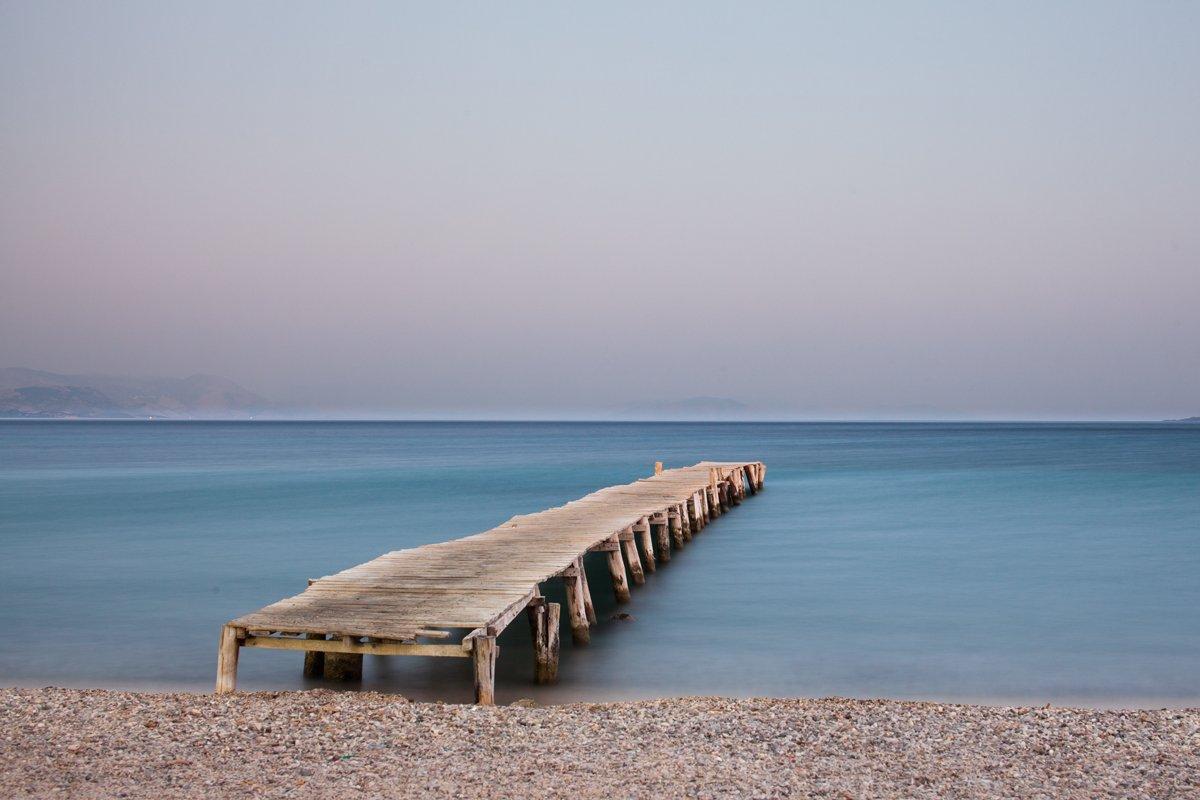 corfu, greece, sea, bridge, Loreta Mag