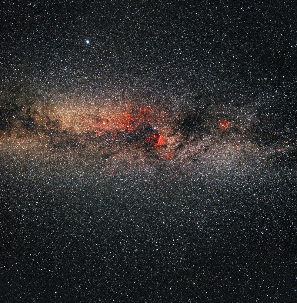 Космос, туманности, Денеб, Вега, Лебедь, водород, Борис Богданов