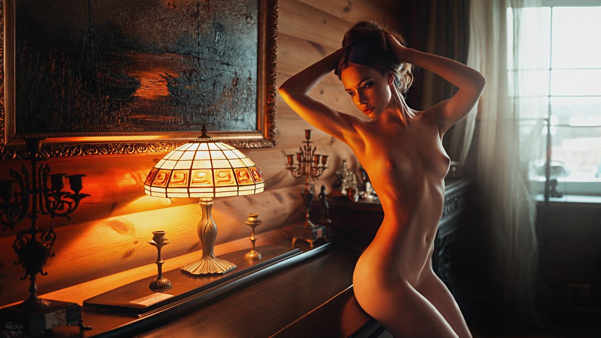 art, art nu, fine art, girl, mood, nude, portrait, арт-ню, настроение, ню, портрет, Георгий Чернядьев