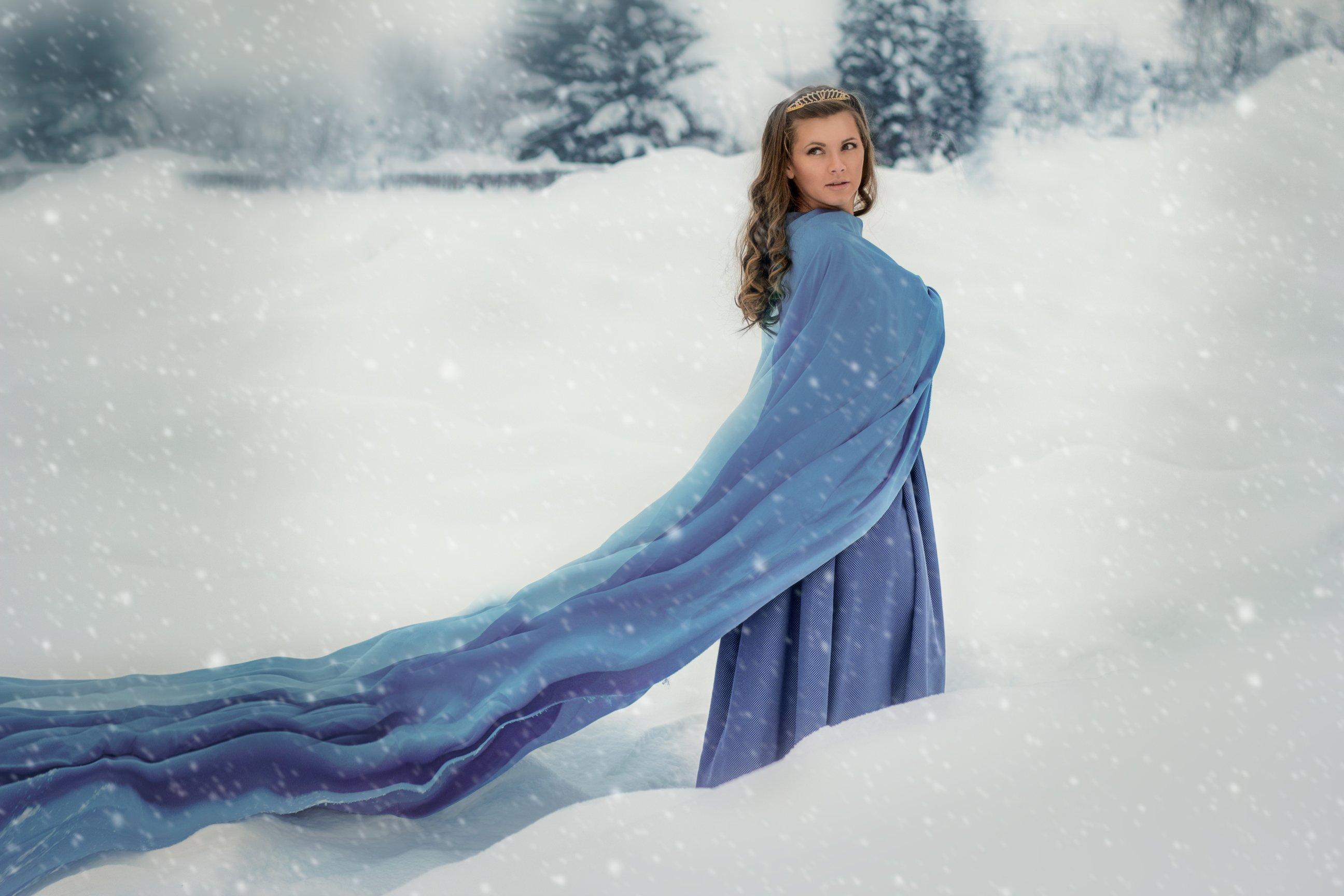 girl, snow, snowwhite, queen, look, beauty, Виноградова Анастасия