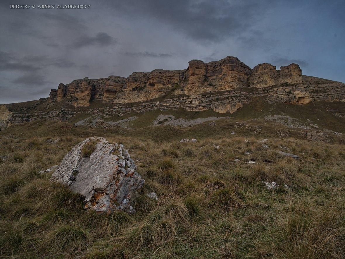 pentax 645z, верхняя мара, вечер, вечернее небо, горы, гум-баши, камень, каньон, карачаево-черкесия, обрыв, перевал, северный кавказ, скалы, средний формат, АрсенАл