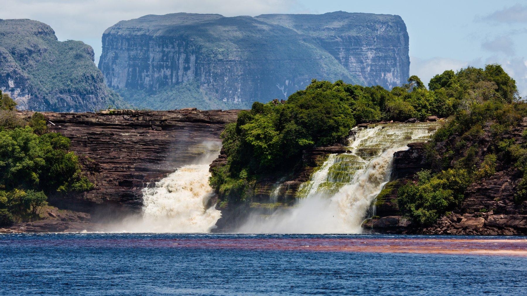 путешествия,природа,венесуэла,водопад,вода,горы,лето, Пётр Перепеченко
