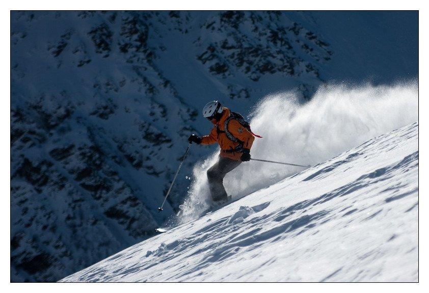 горы, кавказ, чегет, девушка, горные лыжи, Алексей Иванов
