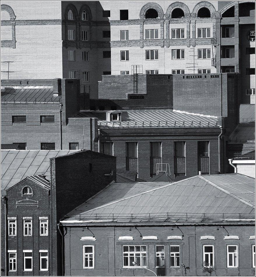 bw, абстракция, архитектура, геометрия, город, дом, здания, квадрат, композиция, красноярск, крыша, линии, окно, пейзаж, прямоугольник, сибирь, стена, форма, формы, чб, Дмитрий Антипов