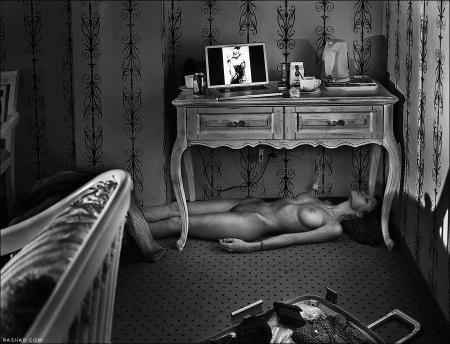 Genre, Nude, Portrait, Rashap, Рашап, Илья Рашап