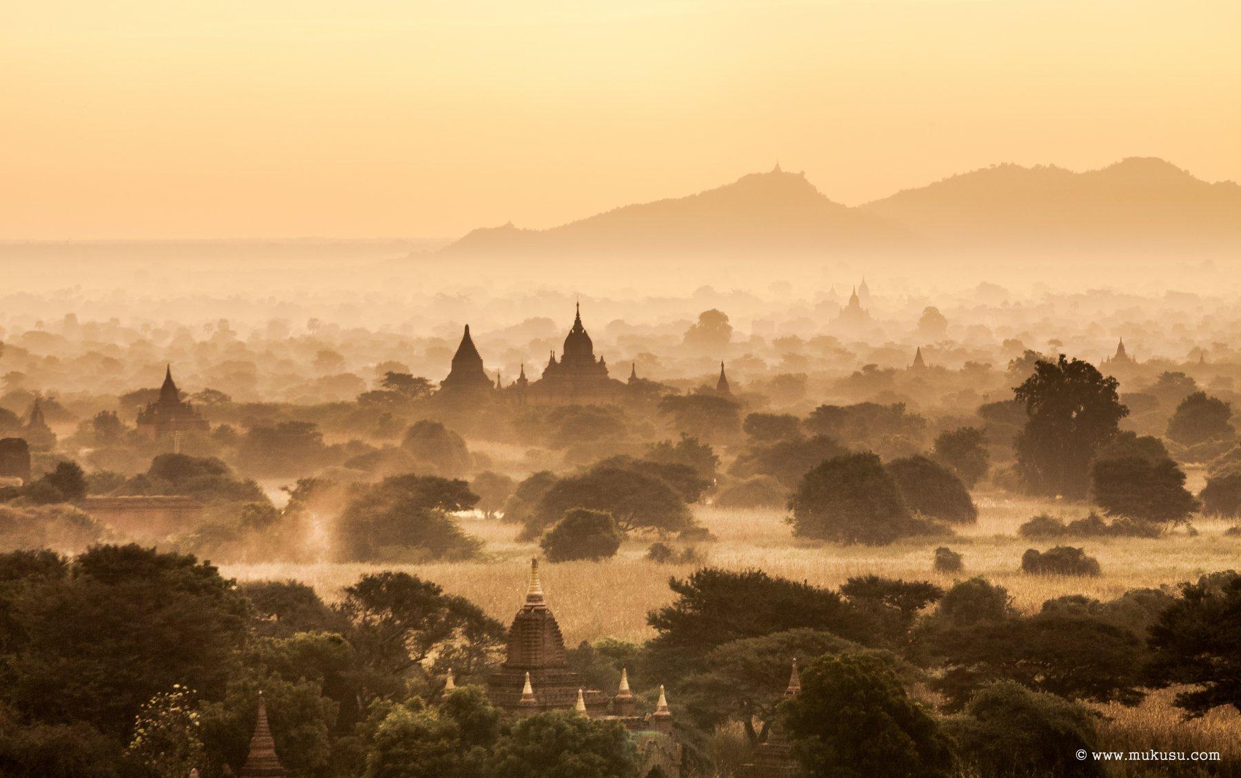 бирма, мьянма, баган,путешествия,рассвет, Алексей Самойленко