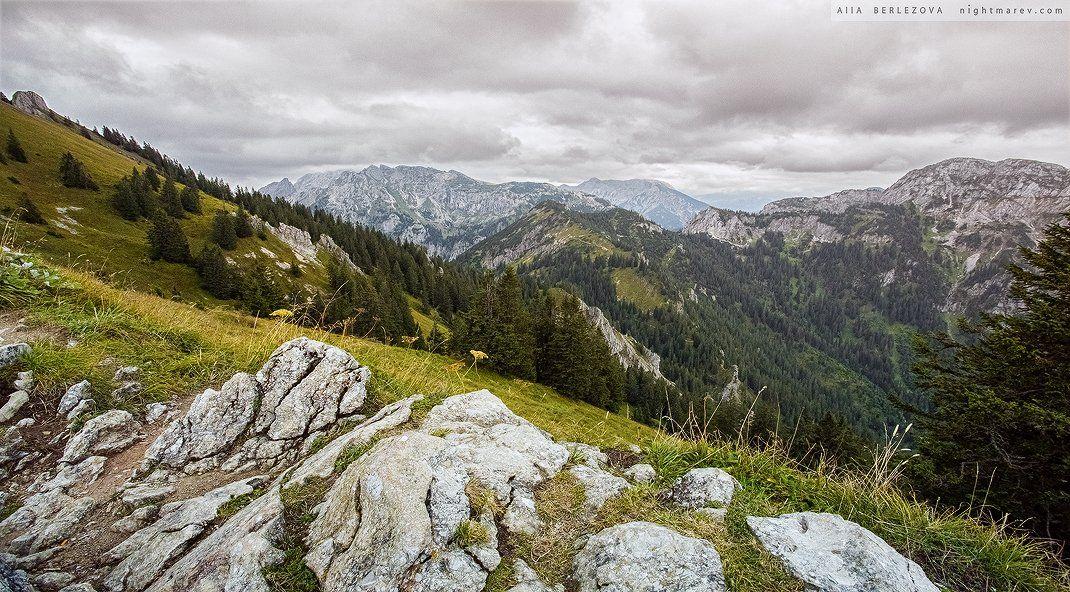 Alps, Bavaria, Germany, Landscape, Rocks, Valley, Альпы, Бавария, Германия, Долина, Камни, Пейзаж, Alla